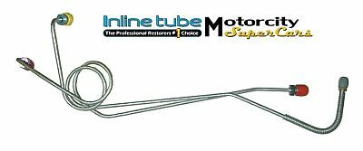 67-72  Mopar A Body Manual Brake Disc Or Drum Master Cylinder Line Lines Oem