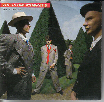 "The Blow Monkeys ""this Is Your Life"" 7"" Perfetto Pb 42149"