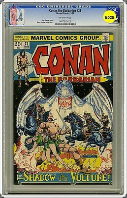Cgc Conan The Barbarian. Barry Smith #22 Nm 9.4 022