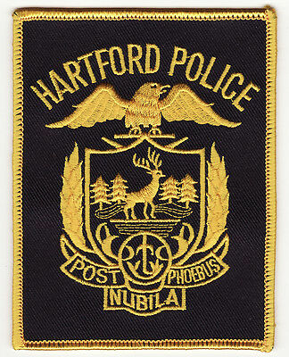 CT Hartford Connecticut Police Patch *New*