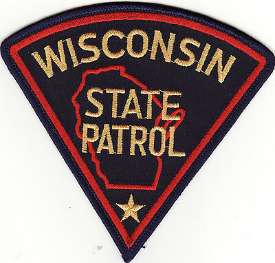 WI Wisconsin State Patrol Police Patch *New*