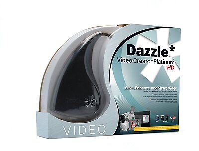 PINNACLE DAZZLE VIDEO CREATOR PLATINUM + STUDIO 15 HD Editing Software (PC USB)