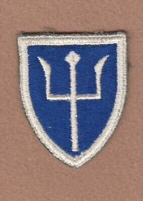 Army Patch: 97th Infantry Division, cut edge, WWII era
