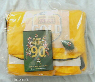 Xxxx Beer Advertising Bag, Vb Rugby League Dvd & Keyring