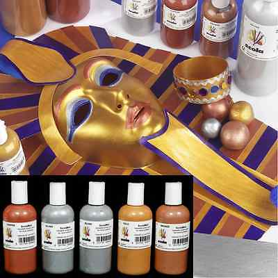 150ml BRONZE METALLIC HIGH PIGMENT GLASS CERAMIC CRAFT SCOLAMELT ARTIST PAINT