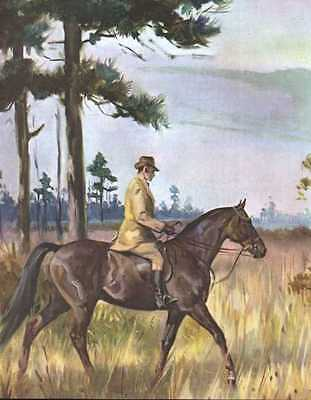 Tennessee Walking Horse Print - 1951 W. Dennis