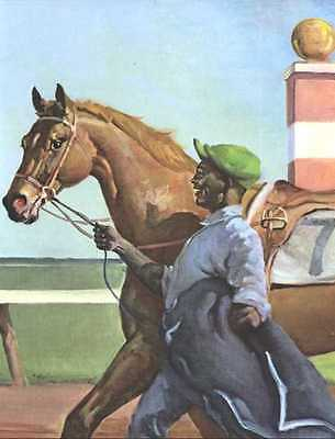 Thoroughbred Horse Print - 1951 W. Dennis