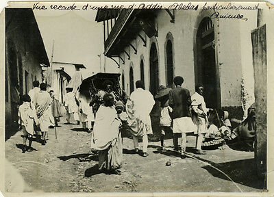 Photo Presse Addis Abebas Ethiopie 1936