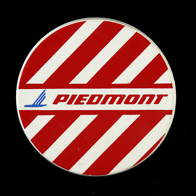 "1962-2013 Piedmont Airlines 2 1/2"" Pinback Button"