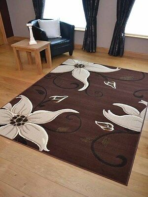 New Dark Brown Small Extra Large Big Hall Runners Floor Carpets Mats Rugs Cheap