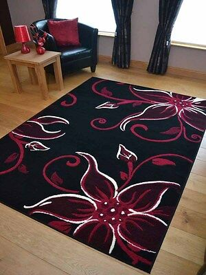 New Black Red Small Extra Large Big Hall Runners Floor Carpets Mats Rugs Cheap