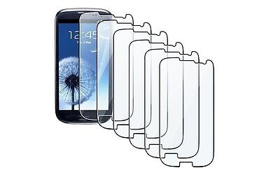 6Packs Crystal Clear Screen Protector Shield for the Samsung Galaxy S3 III i9300