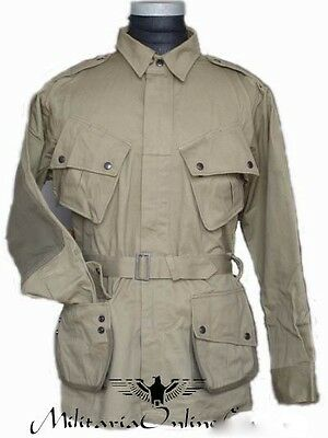 WWII US M42 Airborne Jump Uniform with Trousers - 40R/42R/44R/46R/48R