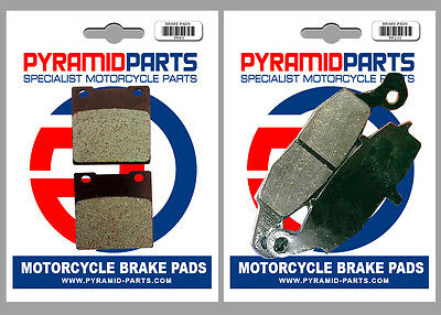 Pyramid Parts Front & Rear brake pads for: Suzuki GS500 96-08