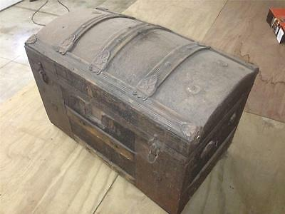 Trunk Wardrobe Steamer Trunk Luggage Ship Chest Travel