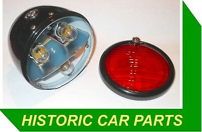 Lucas Style Rear Red Stop/Tail Number Light for MG TA MIDGET 1936-39 ST38 520426