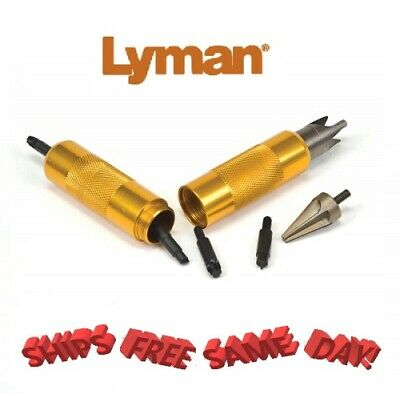 Lyman Case Prep Multi Tool *Includes Deburring & Chamfering Tools*  7777800 New!