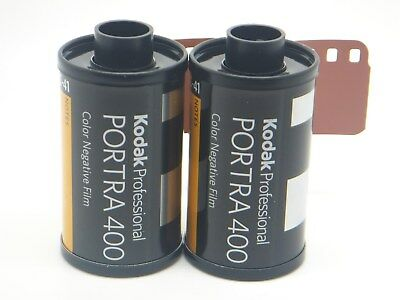 2 x KODAK PORTRA 400 35mm 36 Exp CHEAP PRO COLOUR FILM By 1st CLASS ROYAL MAIL