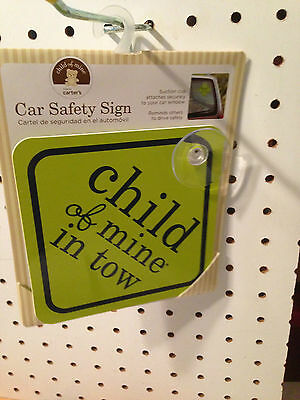Carters Child Of Mine Car Sign Child Of Mine In Tow**