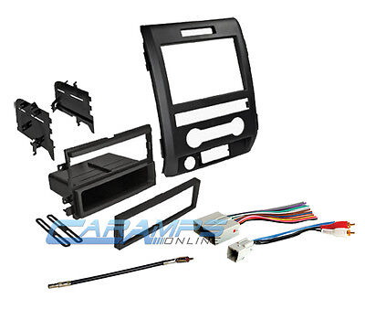 09-12 F-150 DOUBLE Din Car Stereo Dash Install Trim Kit