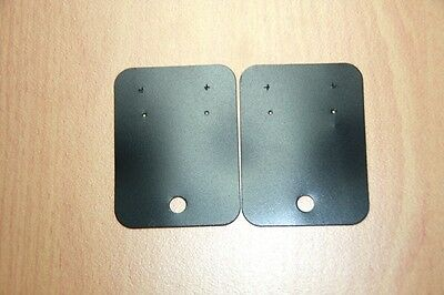 100 Black Earring Display Tags 45 mm x 60 mm Discontinued Line