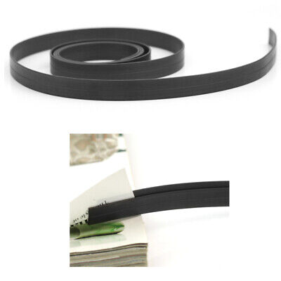 1m 3 Feet Long Rubber Flexible Magnetic Tape Craft Magnet Strip ex1l