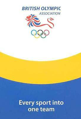 2008 Olympic Games Bejing British Olympic Press Information Pack