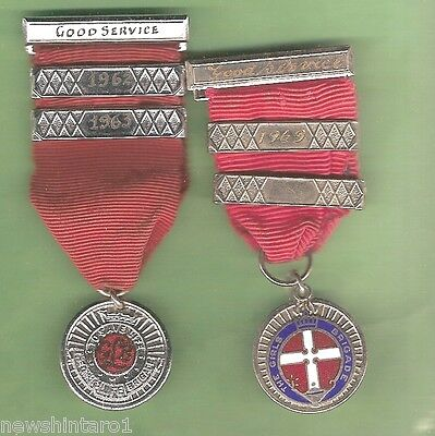 #D29. TWO 1960s GIRLS BRIGADE GOOD SERVICE MEDALS