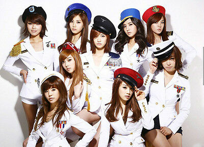 KPOP Girls' Generation Uniform T-shirt Costume K-pop Suit K-POP SNSD Yoona