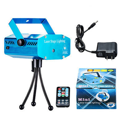 Mini Projector R&G DJ Disco Light Stage Xmas Party Laser Lighting+remote control