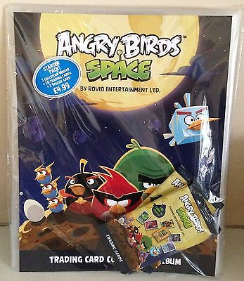 Angry Birds Space Trading Card Collection Binder / Starter Pack / 1 Special Card
