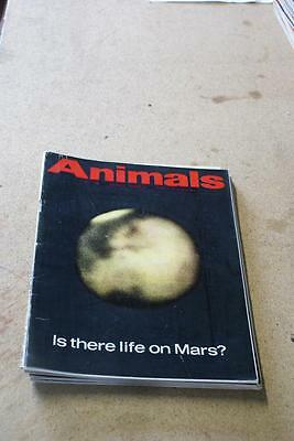 Animals 13th July 1965  Is There Life On Mars