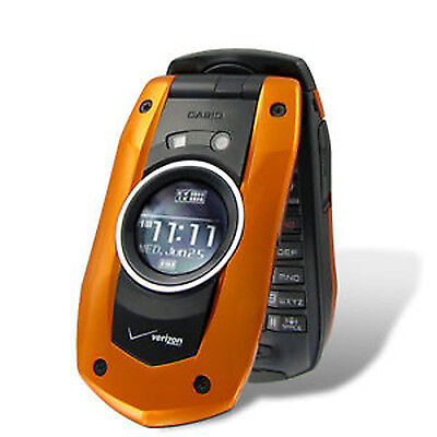 NEW Verizon Casio GzOne Boulder C711 Water Proof Camera Cell Phone