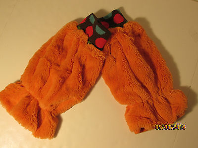 Boogie Monster Boogie Legs Dance Dance Dance Orange NWT