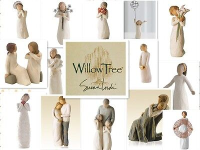 WILLOW TREE FIGURINES-Angel Of Love/The Quilt/Anniversary/Soar/Abudance/Sunshine