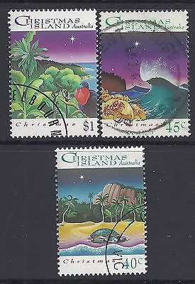 CHRISTMAS ISLAND 1993 CHRISTMAS FINE USED/CTO our ref CX4
