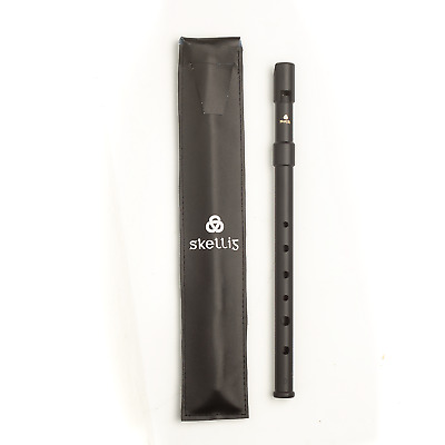 Lark Polymer Irish Penny Tin Whistle in Key Of D - Includes Case