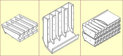 All 11 of our Can Rack Plans Super Discount Price SP11