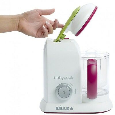 Beaba Babycook Solo 4-in-1 Steam Cook Blend Reheat Defrost Baby Food Processor