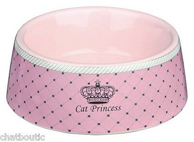 Ecuelle céramique Cat Princess rose 0.18L - 24780