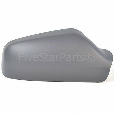 Right Driver Side Wing Door Primed Mirror Cover For Vauxhall Astra G 1998-2005