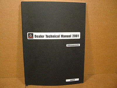 "2001 SRAM Technical Manual (8"" x 11"" and 56 Pages)...MTB Components"