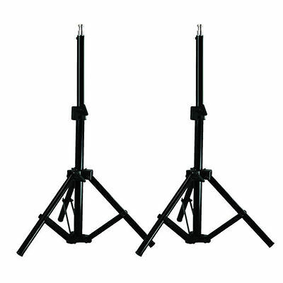 2 Pcs Photo Video Studio Light Stand For Continuous Lighting Kit