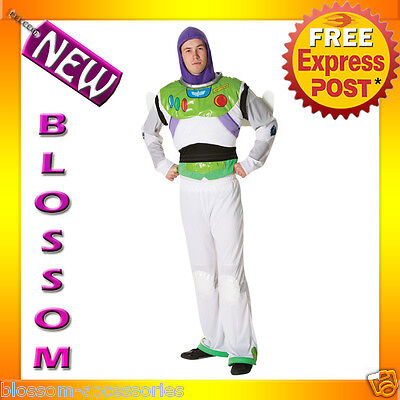 C725 Toy Story - Buzz Lightyear Superhero Halloween Licensed Adult Costume