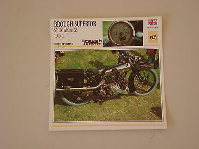 - scheda moto BROUGH SUPERIOR SS 100 ALPINE GS 1000