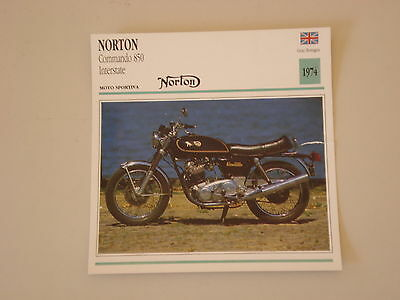 - scheda moto NORTON COMMANDO 850 INTERSTATE