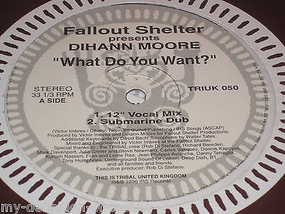 Fallout Shelter presents Dihann Moore, What Do You Want (TRIBAL United Kingdom)