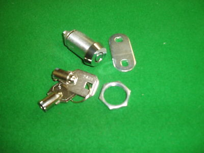 1x FRUIT MACHINE BARREL SECURITY LOCK AND KEY