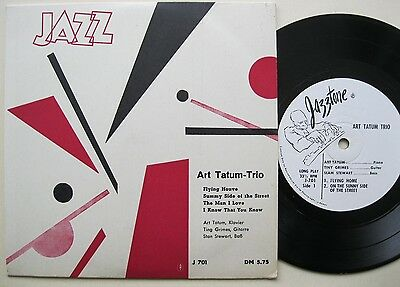 "7"" Art Tatum Trio - Jazztone J 701 - German Cover - Tiny Grimes Slam Stewart"