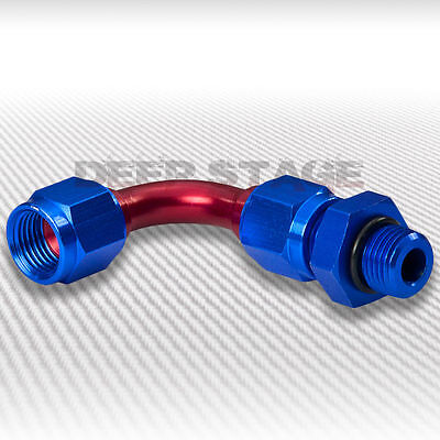 An6 6-An 90° Degree Oil/fuel/gas/fluid Line Hose Female To Male Adaptor Fitting